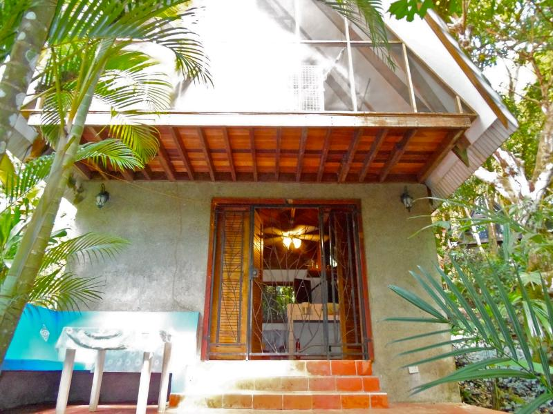A view of the bungalow - Rain Forest Animals on the Porch - 13 - Ciudad Colon - rentals