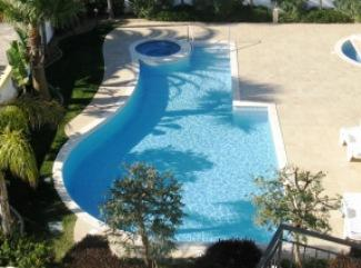 Swimming pool and Jacuzzi - South Facing Apart, Sea Views with Pools & Gardens - Lagos - rentals