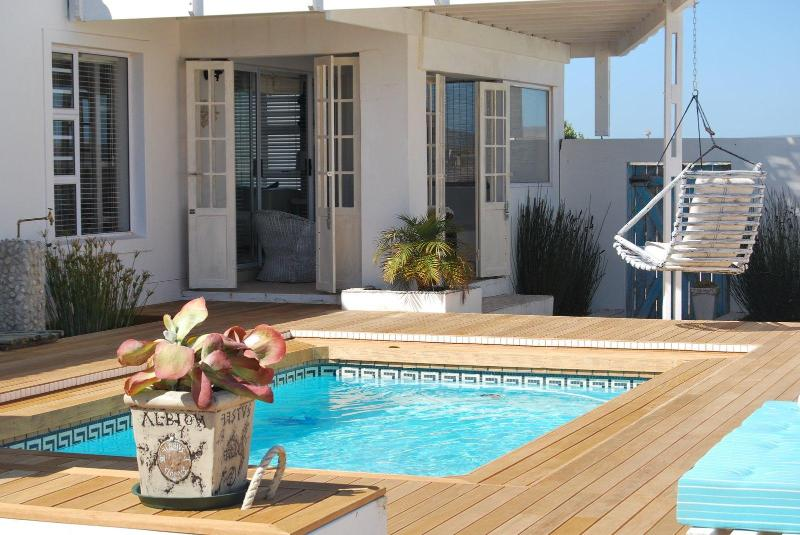 View of the house from the swimming pool - Beach House on Fairway - Langebaan - rentals