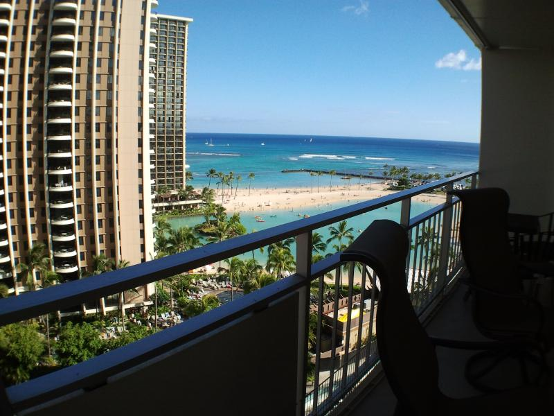 Ocean view and steps to the beach = paradise. - Image 1 - Waikiki - rentals