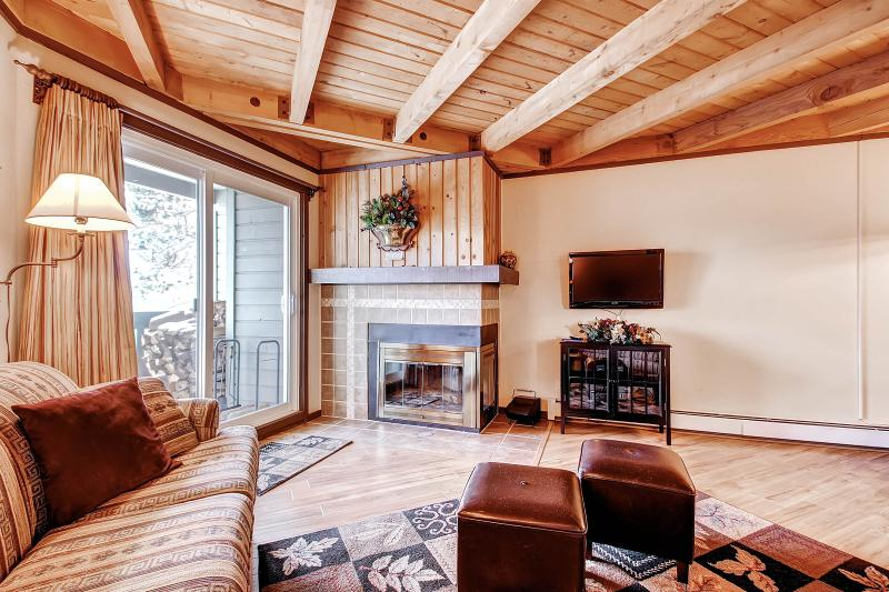 TREEHOUSE 202: 2 Bed/2 Bath, Fireplace, Great Clubhouse & Tennis Court, Mountain Views, Perfect for Families - Image 1 - Silverthorne - rentals