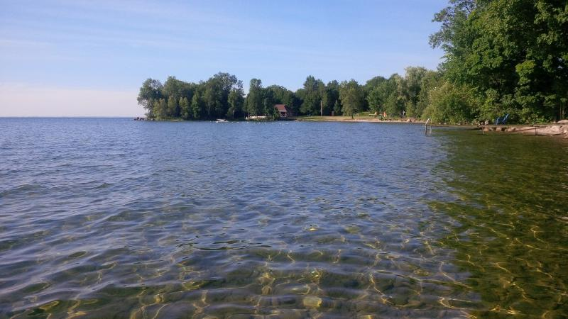 Picture of across the bay from cottage - Lakeside Canadian Cottage 1 Hour from Toronto - Oro Station - rentals