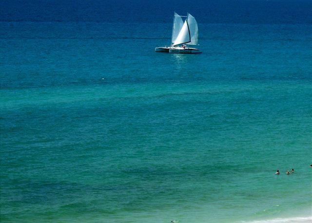 Do you want to take a sail? Call us Today! - Downtown Destin across the street from Big Kahuna's Waterpark. Enjoy! - Destin - rentals