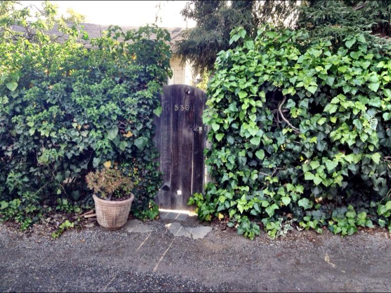 Side entrance - This property is unavailable and calendar - Montecito - rentals