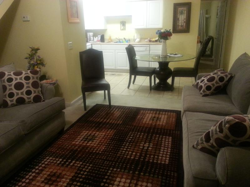 Living Room  - 2 Bedroom  2 Bath Condo 1 Mile From the Beach A6 - Murrells Inlet - rentals
