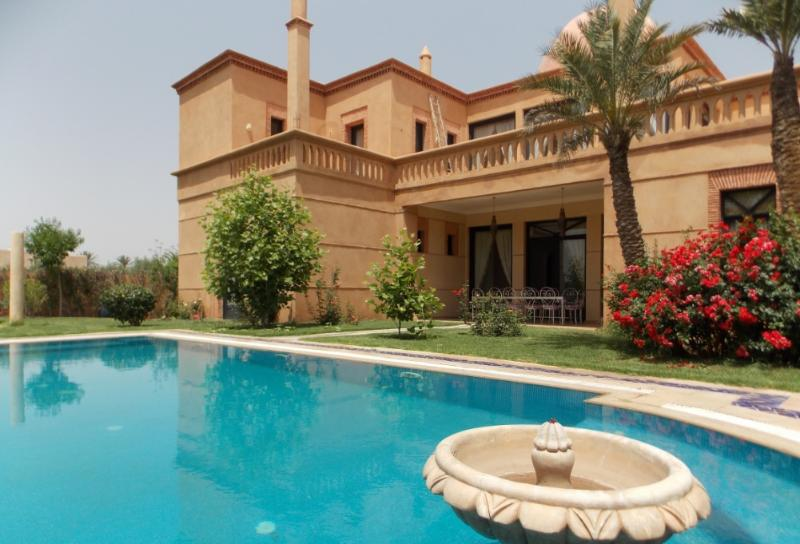 9 Bedrooms charming in Marrakesh Best Golf - Image 1 - Fam El Hisn - rentals