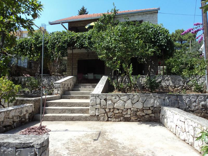 house view - Holiday house- 50 m from beach - Okrug Gornji - rentals