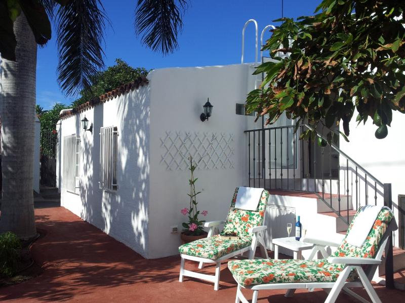 This is what awaits for you in Tenerife at Villa Juanita. Sunny terrace among avocado trees - NEW PRIVATE COTTAGE IN AVOCADO PLANTATION - La Orotava - rentals