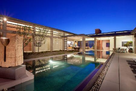 Private Waterfront Contemporary Jewel - A Magazine-Worthy Villa with Ocean Views & Heated Pool - Image 1 - Orange County - rentals
