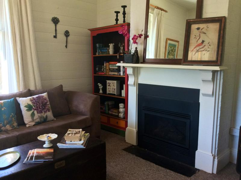 Cozy gas log fire for the cooler months - Cosy country cottage - Moss Vale - rentals