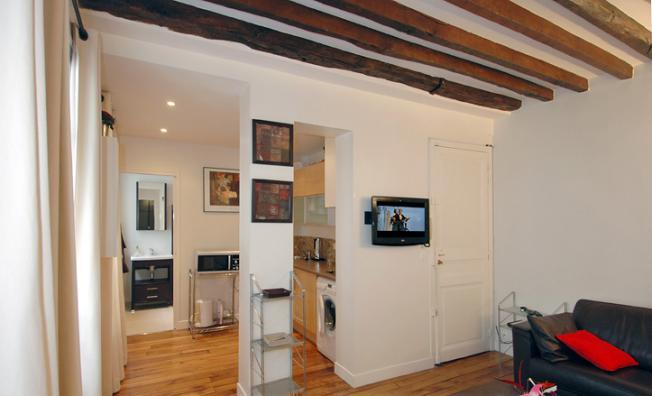Clean and contemporary one bedroom near Opera - Image 1 - Paris - rentals