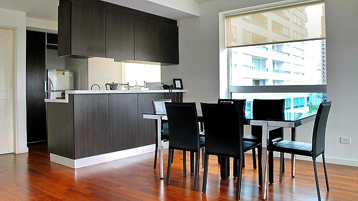 Open Kitchen and Dinning area - Spectacular View and Top Class Apt @ Puerto Madero - Buenos Aires - rentals
