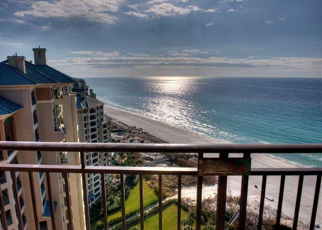 Magnificent gulf views from the private balcony of this 21st floor condo! - Image 1 - Sandestin - rentals