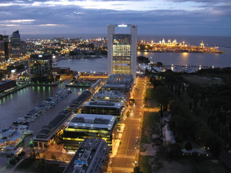 Amazing and Stunning view from 42nd Floor - Stunning View Floor 42 In Puerto Madero Best Tower - Buenos Aires - rentals