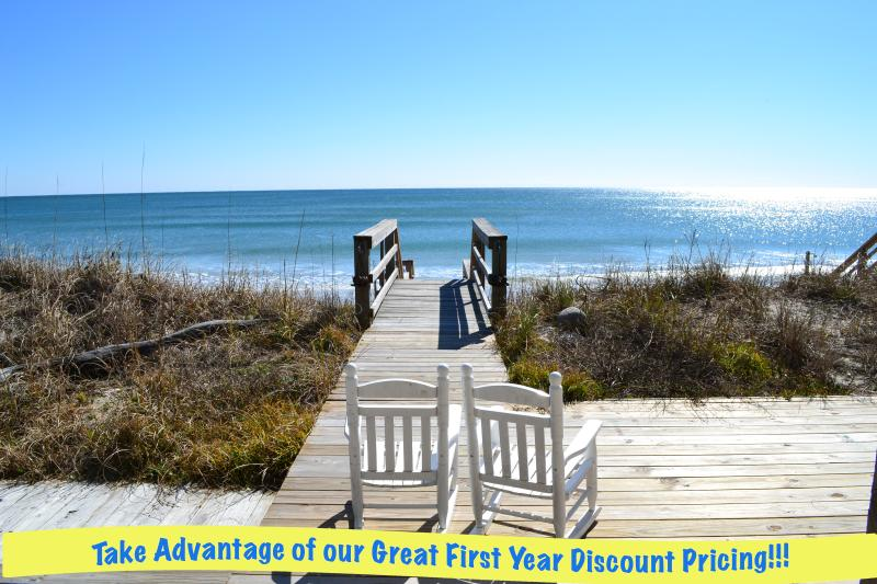 View  - Conched Out on Squid Roe - Surf City - rentals