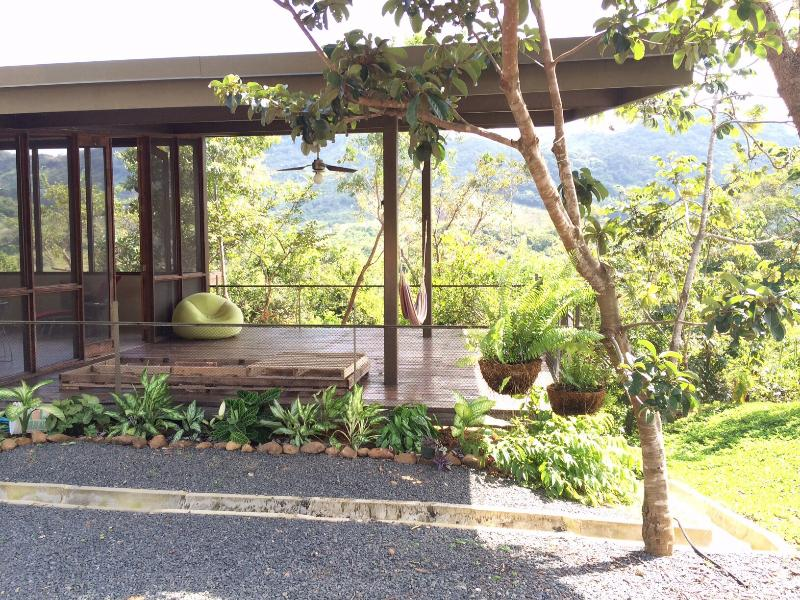 Deck - Eco house in Panama mountains - El Cope - rentals