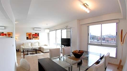 Amazing panoramic Living room over the River - Amazing Apt Over The River In Puerto Madero - Buenos Aires - rentals