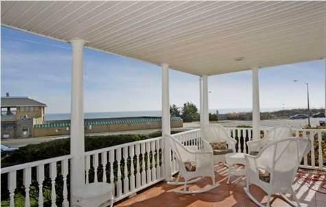 Oceanfront Home with 2 Balconies and Ocean Views! - Image 1 - Spring Lake - rentals