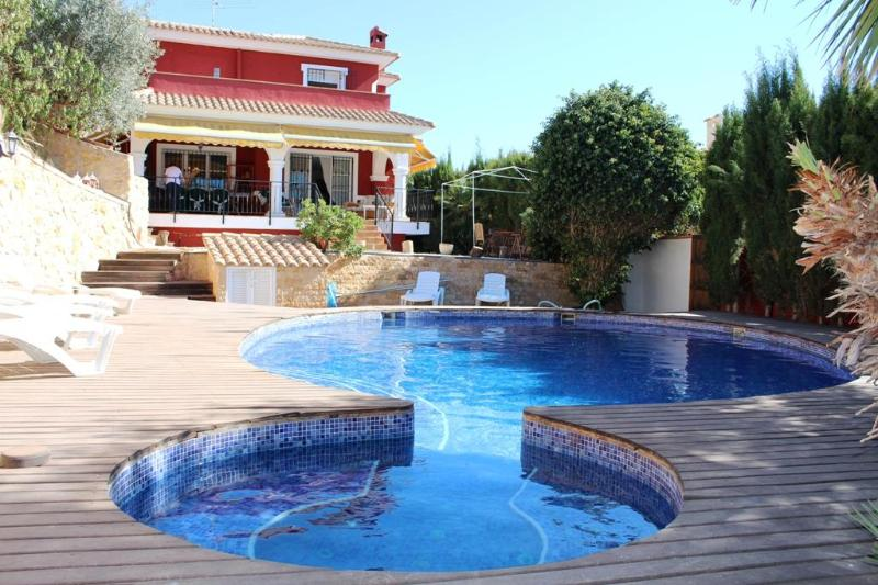 Villa Maria with private pool and jacuzzi - Detached villa on golf course with private pool - Mutxamel - rentals