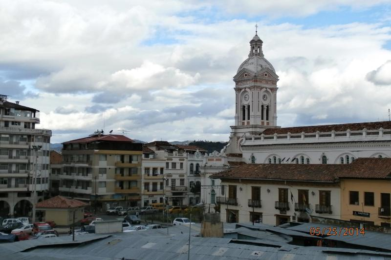 View from Living Room and Balcony - Smack Dab in the Heart of El Centro!!  (Apt #1) - Cuenca - rentals