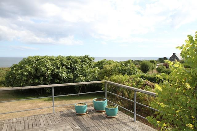 Terrasse - In heart of Morbihan, large house with sea view - Moelan-sur-mer - rentals