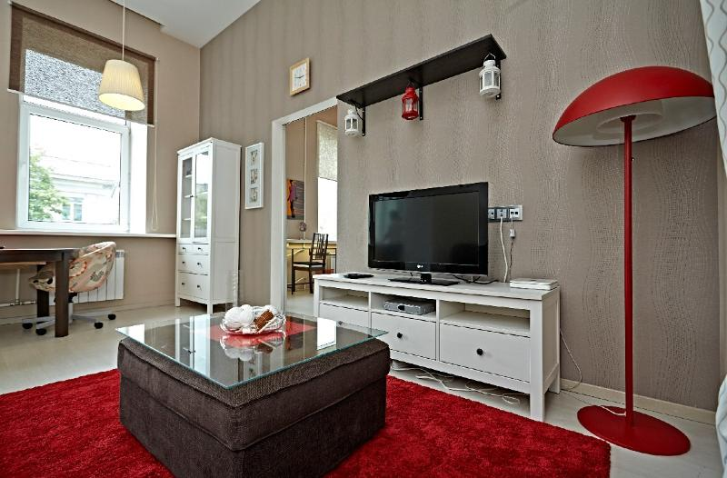 Living-room - Stylish apartment  is situated in the heart of the city centre - Saint Petersburg - rentals