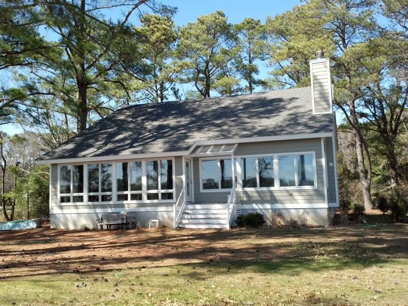 Front of house facing water - Secluded Waterfront Home - White Stone - rentals