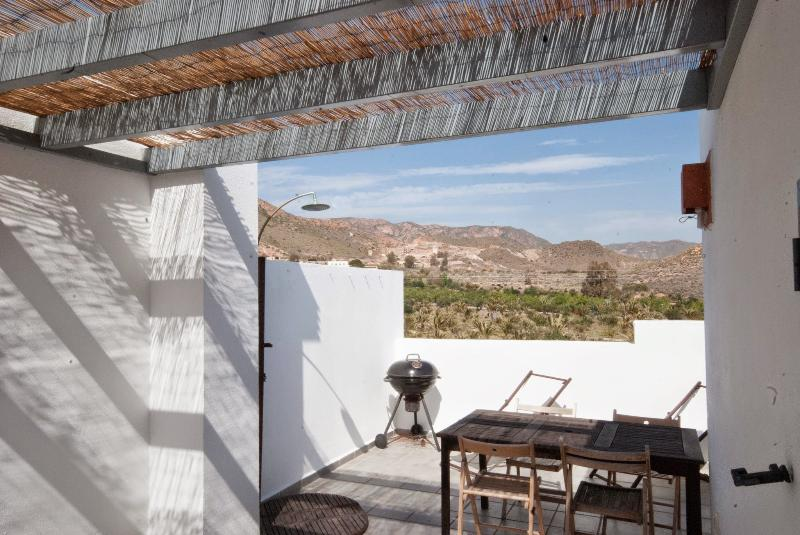 Roof terrace - Holiday home in Cabo de Gata coastal natural park - Rodalquilar - rentals