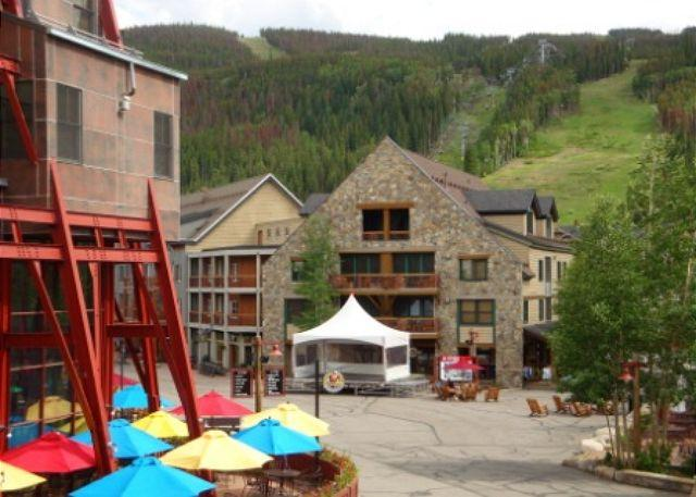 Exterior of Buffalo Lodge looking out to Keystone village. - Buffalo Lodge #8329 - Keystone - rentals