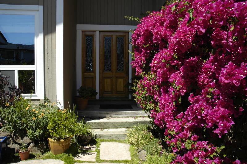 front entry - Luxurious Waterfront  Home  San Francisco Bay Area - Larkspur - rentals