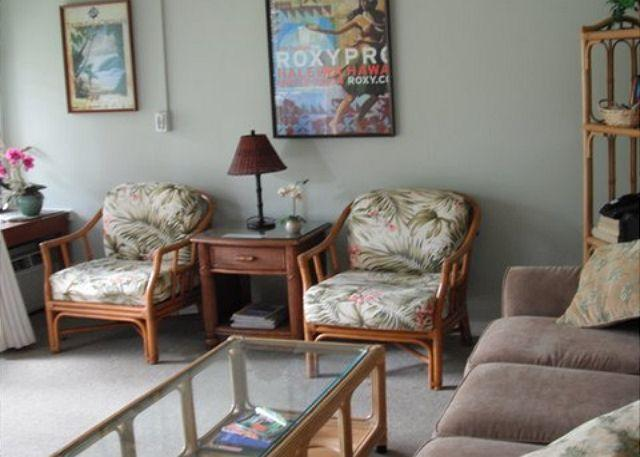 Living Room - Turtle Bay 062 East ***Available for 30 day rental - Kahuku - rentals
