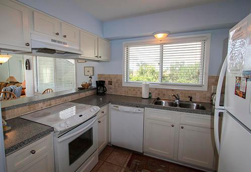 Fully stocked kitchen - 12 A Mariners Walk - 2 bedroom Ocean front condo - Isle of Palms - rentals