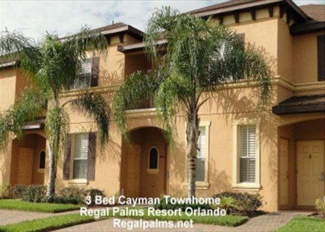 3 Bed Town Home Villa At Regal Palms Resort Orlando Florida AS2715CL - Image 1 - Davenport - rentals