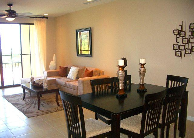 Welcome to Pacifico C407 The living area has a comfortable L-shaped sofa and is nicely decorated. - Pacifico C407 - Beautiful Condo 2 Bedroom With Ocean View - Playas del Coco - rentals