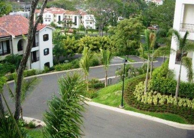 The condo is up in the hills of Pacifico Resort. - Pacifico C408 - Beautiful View from this Luxurious 3 Bedroom/2.5 Bath Condo - Playas del Coco - rentals
