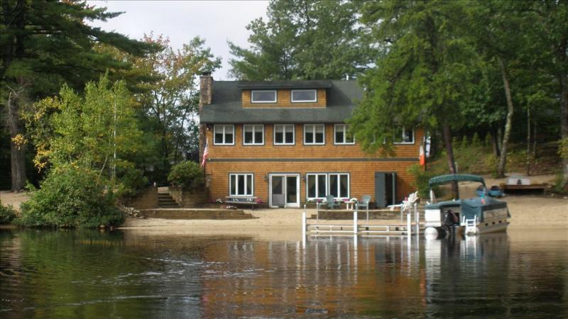 Gorgeous Home with sandy beach! - Gorgeous Waterfront Home on Broad Bay 114072 - Ossipee - rentals