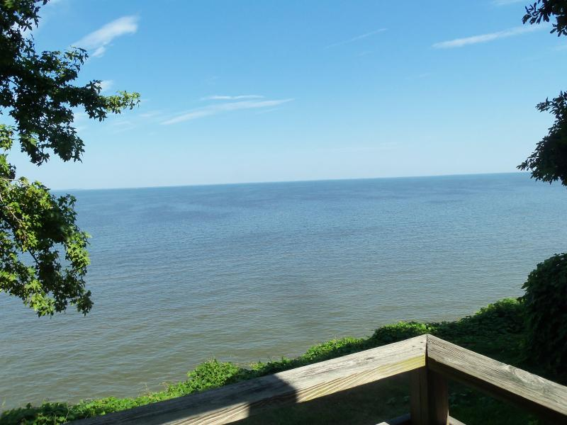 Chesapeake Bay Looking across bay to Eastern Shore - Chesapeake Beach Waterfront Home - Chesapeake Beach - rentals