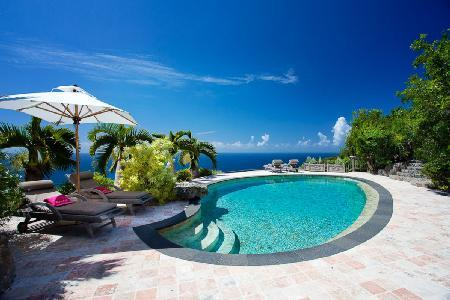 Deluxe villa Cristobal on 75 acres offers total privacy, heated pool & minutes to beach - Image 1 - Gouverneur - rentals