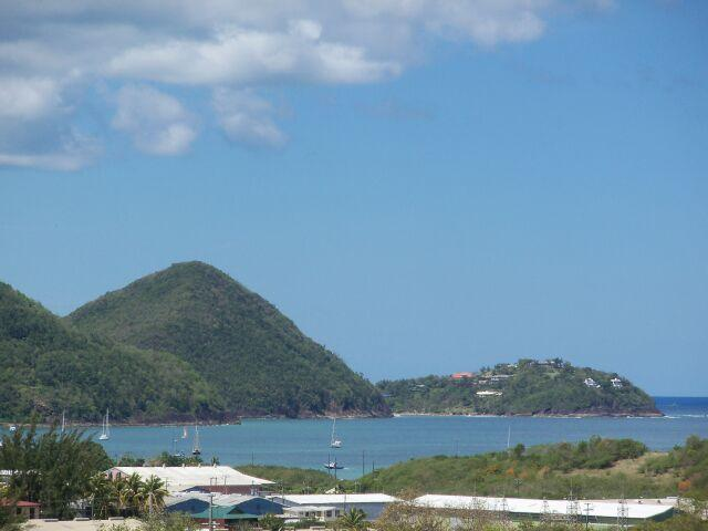 View from penthouse - St lucia 2 Bedroom Penthouse with Ocean views - Cap Estate - rentals