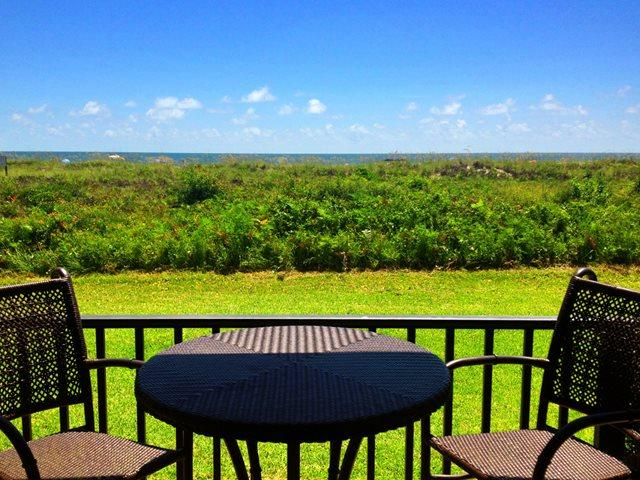 View from patio - Island Club, 2103 - Hilton Head - rentals
