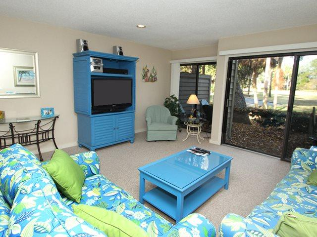 Living area 2 - Greens, 123 - Hilton Head - rentals