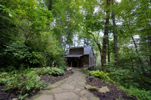 Exterior ~ Rivertime ~ Absolute Privacy - Rivertime - Weaverville - rentals