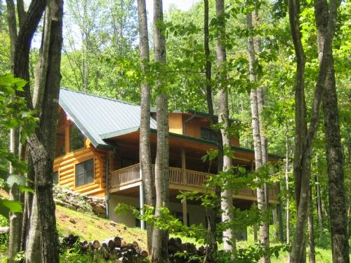 Old Mountain Cabin ~ Exterior - Old Mountain Cabin - Hendersonville - rentals