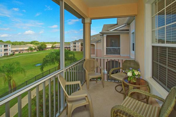Screened balcony with park views - Palm Vista - Kissimmee - rentals