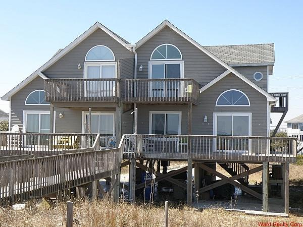 Oceanfront Exterior - Acland - North Topsail Beach - rentals
