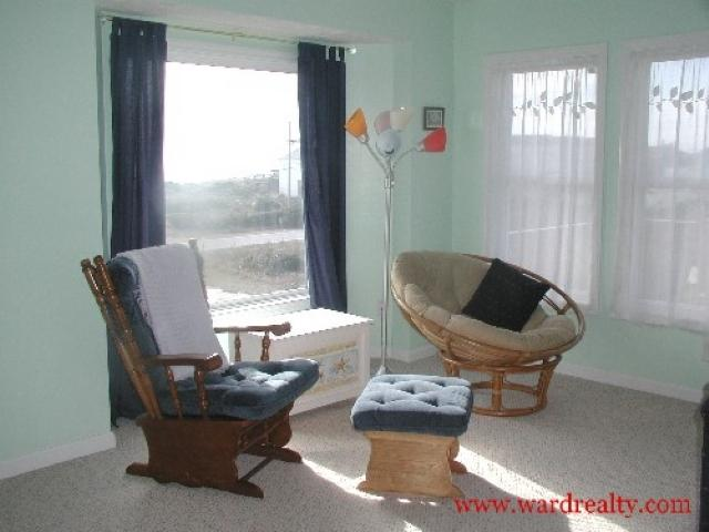 Upstairs Sitting Area Behind Living Room - Dutch Treat - Surf City - rentals