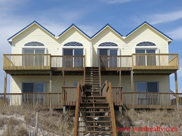 Oceanfront Exterior - Reflection S - North Topsail Beach - rentals