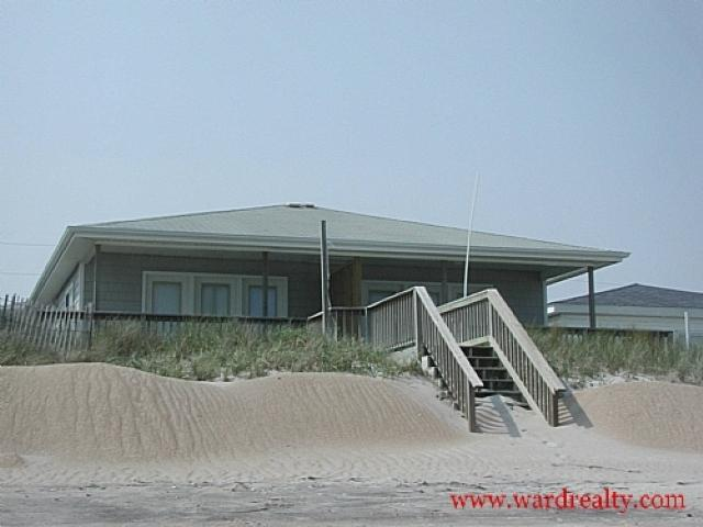 Oceanfront Exterior - Star of the Sea North - Topsail Beach - rentals
