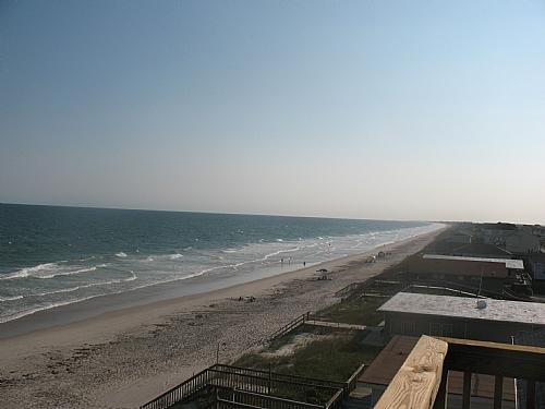 Oceanview from 3rd Floor Sundeck - Tipsy Turtle S - Surf City - rentals