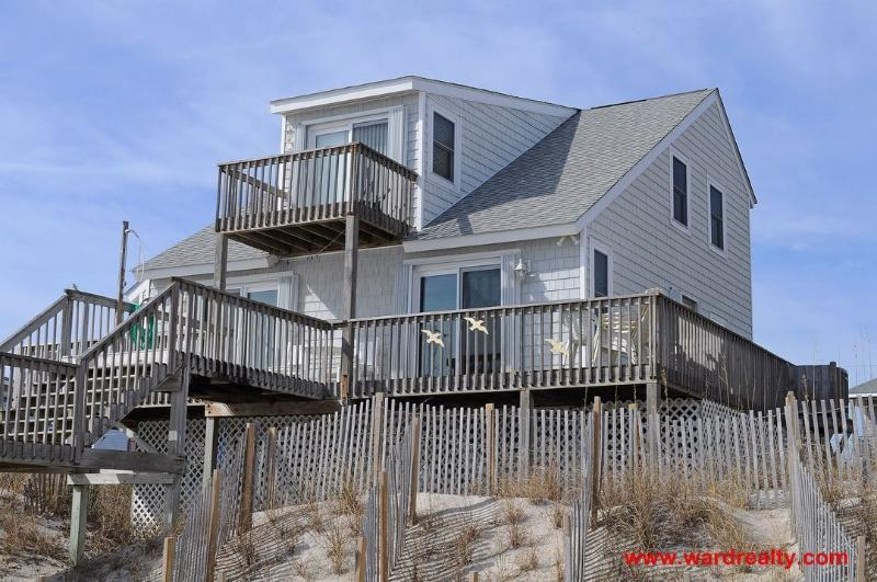 Oceanfront Exterior - Whittington - North Topsail Beach - rentals